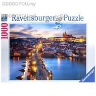 ﹉◇▲Ravensburger GAME Jigsaw Puzzles GERMANY import  1000PCS Adult puzzle Prague night111