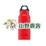 【山野賣客】Koozio/炫紅色-600ml水瓶,不鏽鋼水壺休閒水壺自行車水壺衛生無毒