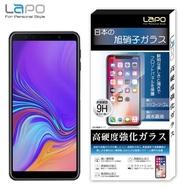 【LaPO】Samsung A7_2018版 全膠滿版9H鋼化玻璃螢幕保護貼(6吋滿版黑)
