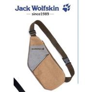 飛狼Jack Wolfskin 雙色拼接腰包 16x33.5cm 飛狼兩用多功能腰包  飛狼腰包 腰袋