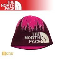 [現貨]The North Face 童 雙面保暖帽《葡萄酒紫》/A6X3/毛帽/保暖針織帽/冬季