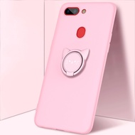 New OPPO R15 phone case TPU soft shell integrated with ring bracket R11s Plus protective cover multi