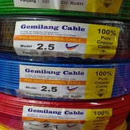 2.5 ELECTRIC PVC CABLE / WIRE / 2.5 WAYAR PVC CABLE