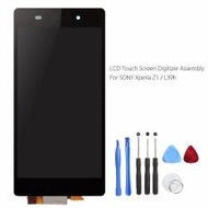 New Black LCD Display Screen for Sony Xperia Z1 L39h Digitizer Touch Screen Tested Good Parts C6902 C6903 with Gift Tools