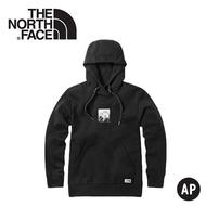 《低溫特報》【The North Face 男 快乾休閒帽T《黑》】3VTH/連帽長袖/帽T/保暖長袖/長袖上衣