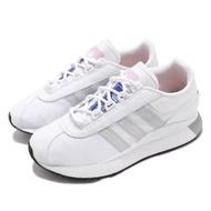 【adidas 愛迪達】休閒鞋 SL Andridge 運動 女鞋 愛迪達 舒適 簡約 質感 球鞋 穿搭 白 灰(EG6846)