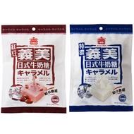 【義美】日式特濃牛奶/紅豆 (105/95g/包)