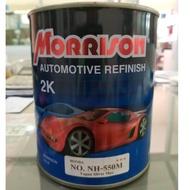 Morrison สีพ่นรถยนต์ 2K เบอร์ NH-550M(HONDA) ขนาด1ลิตร