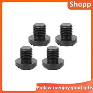 SHOPP 2 Pair Rearview Side Mirror Hole Plugs Screw M10x1.25 Fits For Hypermotard