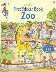Usborne First sticker books Zoo