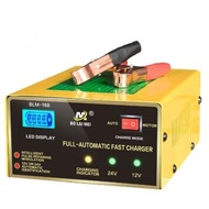 【Ready Stock】♣▬℡motolite battery battery charger 12v ➳[Free Shipping] Car Battery Charger 12V/24V 20