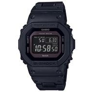 【CASIO 卡西歐】G-SHOCK 5600經典新高峰個性太陽能電波藍芽錶-黑紫(GW-B5600BC-1B)