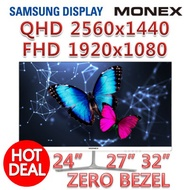 [SUPER SALE] MONEX 24 ~ 32 inch FHD / QHD monitor Samsung panel
