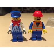 LEGO 樂高 10027 全新人偶2支合售