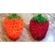 韓國草莓菜瓜布/洗碗 二入一組 韓國購入