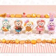 大賀屋 日貨 達菲熊 畫家貓 雪莉玫 史黛拉兔 草莓香 情人節 巧克力 吊飾 娃娃 海洋迪士尼  J00020039