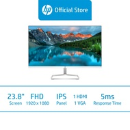 """HP M24fwa FHD Monitor / 23.8"""" FHD / IPS Display / 5ms GtG / 75Hz / Integrated Speakers / 3 Years Onsite Warranty"""