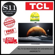 TCL 55C825 55 INCH 4K UHD MINI LED ANDROID TV *3 YEARS LOCAL WARRANTY - BULKY