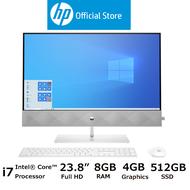 HP Desktop Pavilion All-in-One - 24-k0106d [FREE Pre-installed MS Office Home & Student 2019 & Delivery]