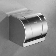 衛生紙架/免打孔不鏽鋼304衛生間紙巾盒廁紙盒廁所衛生紙盒大卷紙盒紙巾架1