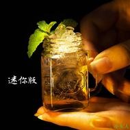 【小女人】創意雞尾酒杯子彈杯迷你公雞杯創意梅森子彈杯果汁杯女士烈酒水杯