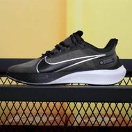 "Nike_Zoom Strike 2 วิ่ง ""กลับ/สีเทา"" Super วิ่ง Impact รถ Low Leisure รองเท้าวิ่งกีฬารองเท้าวิ่งมาราธอน Marathon รองเท้า Breathable ตาข่ายลื่น"