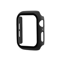 Case + tempered film integrated series for Apple Watch 6 5 4 Screen protector bumper protective case for Apple Watch series 3 2 1 38mm 42mm