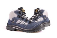 KPR Safety Shoes Sport Navy M-027B (mid cut lace up) *FREE SHIPPING BY QXPRESS*