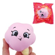 Meistoyland Squishy Slow Rising Squeeze Toy Stress Ice Cream Cotton Candy Gift