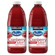 【蝦皮茉兒】宅配免運 🚚 科克蘭 蔓越莓綜合果汁 2.84公升 X 2入 好市多 COSTCO 美國製