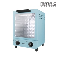 【MATRIC】松木12L立式時尚雙層電烤箱 MG-DV1205