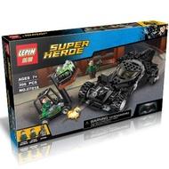 (磚塊積木) 樂拼07018超級英雄 或得高7117 相容LEGO非樂高76045