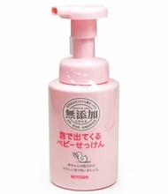 日本 MIYOSHI無添加嬰幼兒泡沫沐浴乳 250ml 甜園小舖▶全館滿799免運