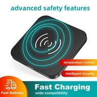 CHOETECH ที่ชาร์จแบตไร้สาย แท่นชาร์จแบต ชาร์จเร็ว T511S QI Certified 10W Fast Wireless Charger Pad Fast Wireless Charging【18 month warranty】