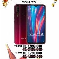Vivo y12 3/64GB garansi 12 bulan