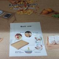 Bamboo Pallet / Multi Use Pallet / Dulang