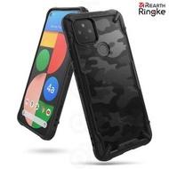 【Ringke】Rearth Google Pixel 4a 5G [Fusion X Design] 透明背蓋防撞手機殼(Pixel 4a 5G 防撞手機殼)