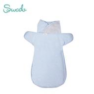 美國Swado 全階段靜音好眠包巾輕薄透氣款-莫藍迪藍 (S/M)【佳兒園婦幼館】