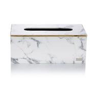 finara費納拉-CEO方形大面紙盒-(雪白銀狐大理石紋)雪白銀狐大理石紋