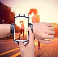 運動臂包運動手機臂套手腕手機包跑步臂包男女通用健身騎行手腕帶蘋果華為