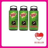 3M Scotch-Brite™ General Purpose Lint Roller Refill 836RF-30 (Bundle of 3 packs)