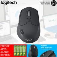Logitech M720 Triathlon Multi-Device Wireless Mouse for PC and Mac