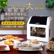 【白色】美國 COPPER CHEF 氣炸烤箱🧧送12件大全配+油刷🧧【憲哥代言】