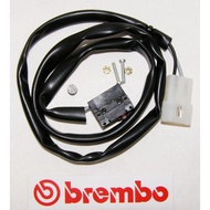 [ Moto Dream 重機部品 ] Brembo 13mm/16mm 側推總泵 煞車感應線