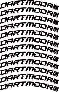 Dartmoor Bike Frame Decals