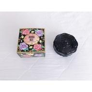 正品 Anna Sui 安娜蘇 魔幻光透瓷娃娃蜜粉盒 珠寶盒 附原廠紙盒 粉撲 黑色 紫色 收納盒