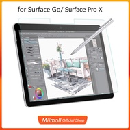 Miimall Surface Go/Go 2/Surface Pro X Screen Protector,Anti Reflection PET Paper-Like Film for Surface Pro 7/6/5/4/Pro LTE