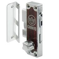 6800 青葉牌 1200型鋁門鎖 AT鑰匙 十字鎖 鎖管長38mm 鋁門平鉤鎖 鋁門鎖(落地窗勾鎖 推拉門皆可)