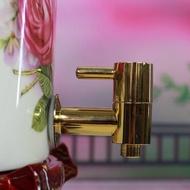 a暢銷!陶瓷儲水罐冷水壺蓄水罐小水缸凈水器通用水龍頭純銅不銹鋼水龍頭
