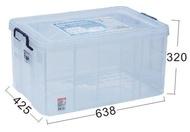 聯府 KEYWAY 強固型掀蓋整理箱 K036 收納箱/置物箱/整理櫃
